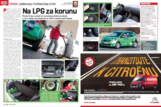 Svět motorů - LPG